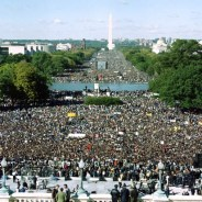 Two million men gathered on the National Mall on Oct. 16, 1995, at the call of Minister Farrakhan.