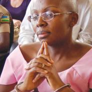 Rwandan political prisoner Victoire Ingabire Umuhoza