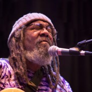 Singer-musician-songwriter Blackberri performs at the Jan. 25 tribute to Pat Parker. All the photos were taken at that event. – Photo: Malaika Kambon