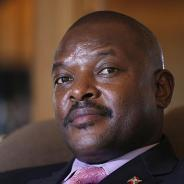 President Pierre Nkurunziza accepted his party's nomination for a third term in April. – Photo: AFP