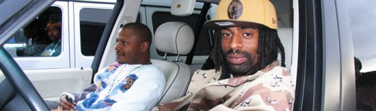 Mac Dre in the driver's seat
