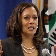 California Attorney General Kamala Harris kicked off her U.S. Senate campaign with a private fundraiser in San Francisco April 1, 2015. – Photo: CBS San Francisco
