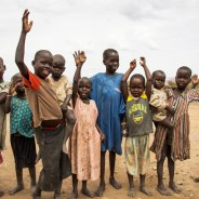 South Sudan children, web
