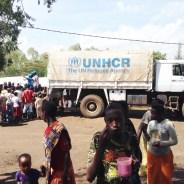 Burundian refugees at Nyanza reception center prepare to depart for Rwanda's Mahama refugee camp. – Photo: J. Novela, UNHCR