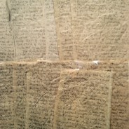 This is the story that Missouri prisoner Shyheim Deen El-Mu'min wrote on paper bags when guards confiscated the writing paper from him and all the prisoners in his solitary confinement unit. – Photo: Jamie Weinstein, who also transcribed the story