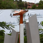 This flame, lit to commemorate the Rwandan Genocide, will burn for 100 days in Kigali, Rwanda, from April 7 into the first week of June.