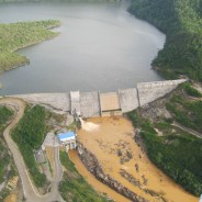 In August 2009, Fortis-BECOL released massive amounts of sedimentation from the Chalillo Dam. Look at the difference in the color of the water above and below the dam. The heroic Indigenous environmental leader Berta Caceras was assassinated for fighting to prevent a similar catastrophe in nearby Honduras.