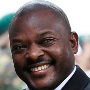 President Pierre Nkurunziza, the current president of Burundi, is castigated by Western leaders and some members of Burundi's political elites, but hugely popular with Burundi's rural peasant majority.