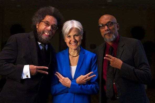 Dr. Cornel West, Dr. Jill Stein and Dr. Ajamu Baraka