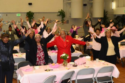 Women at the conference find it's fun to be fit.