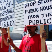 POOR got wind of the unpublicized RAD plan to privatize all public housing years before it happened and protested valiantly to try to stop it. – Photo: PNN