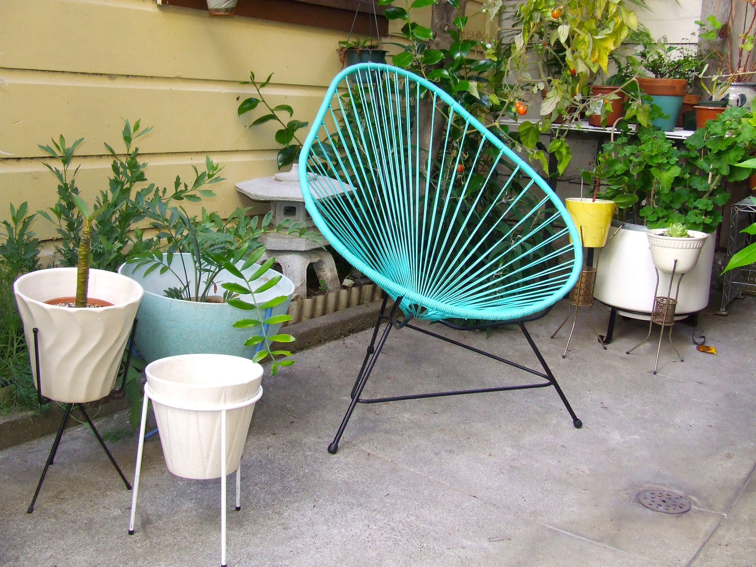 I contacted some dealers in mexico and my friend brought it for me the chair has an amazing look and is very comfortable ideal for a patio or garden