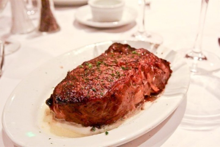 Ribeye steak at Ruth's Chris Steakhouse
