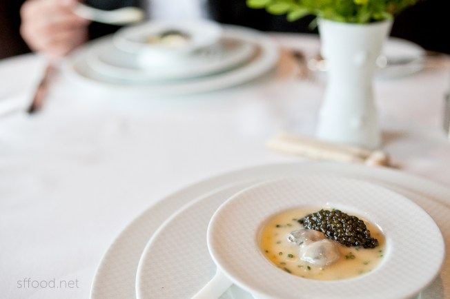french laundry oysters caviar