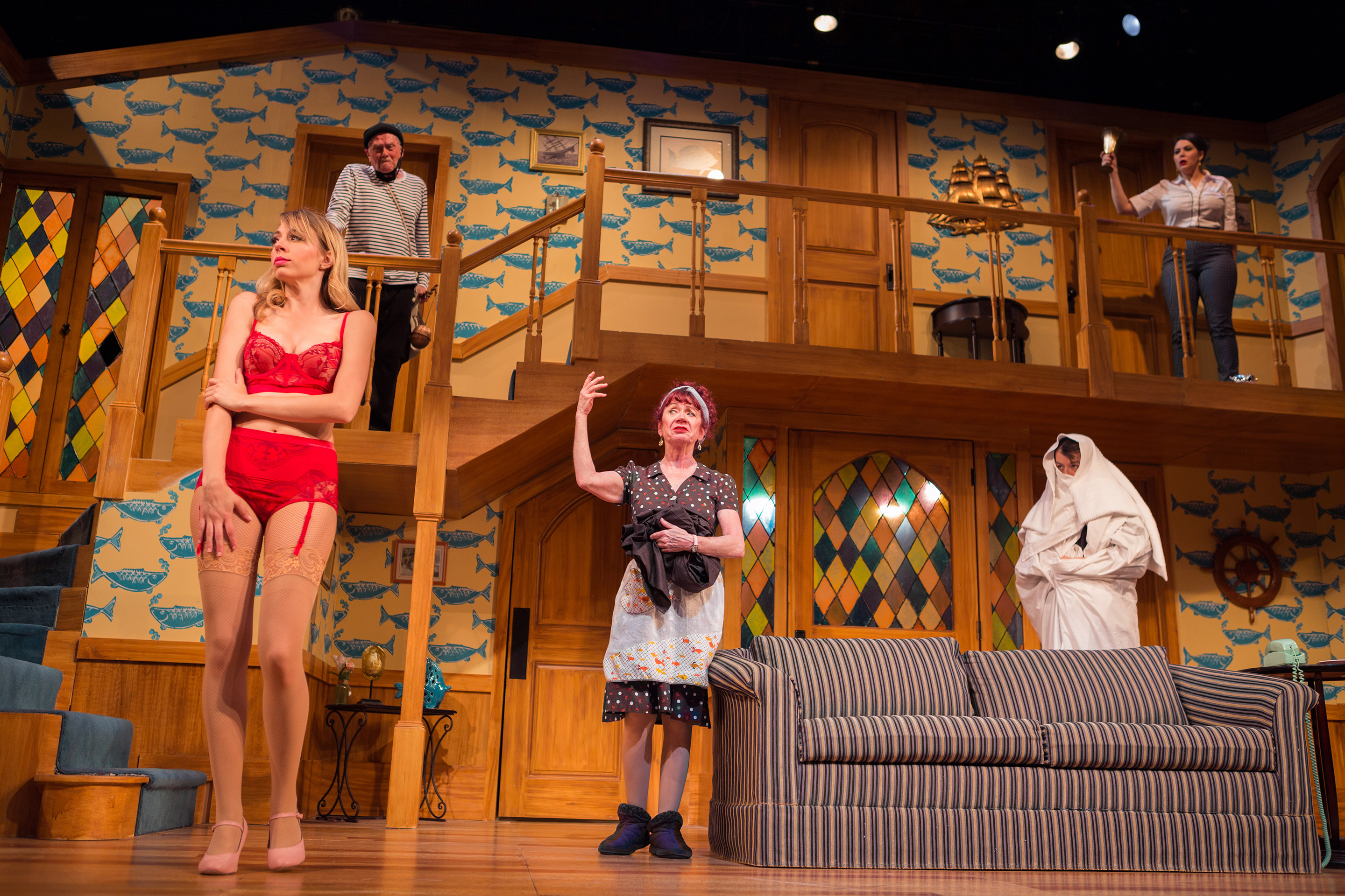 Frederick Ii Noises Off - Play Tickets At San Francisco Playhouse