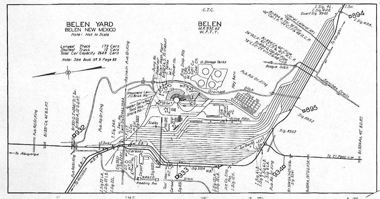 a track diagram