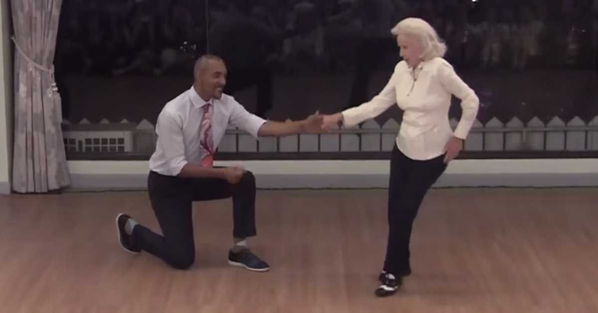 This 90 Year Old Shows Off Her Amazing Dance Skills On Her