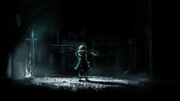 Anime dark wallpaper - SF Wallpaper
