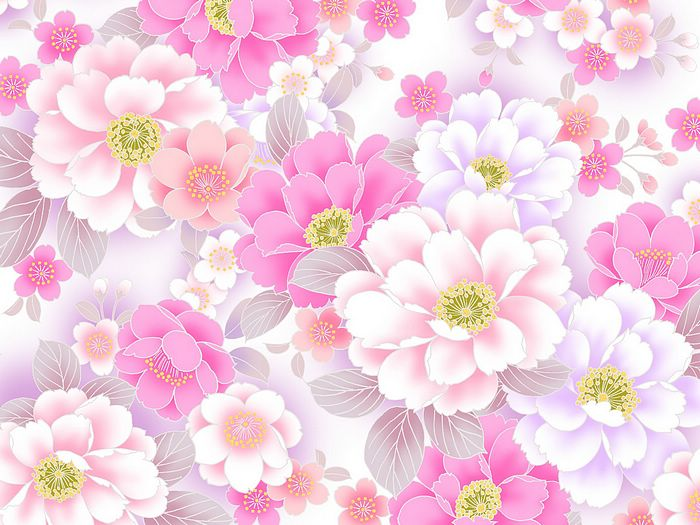 Background images flowers pink - SF Wallpaper