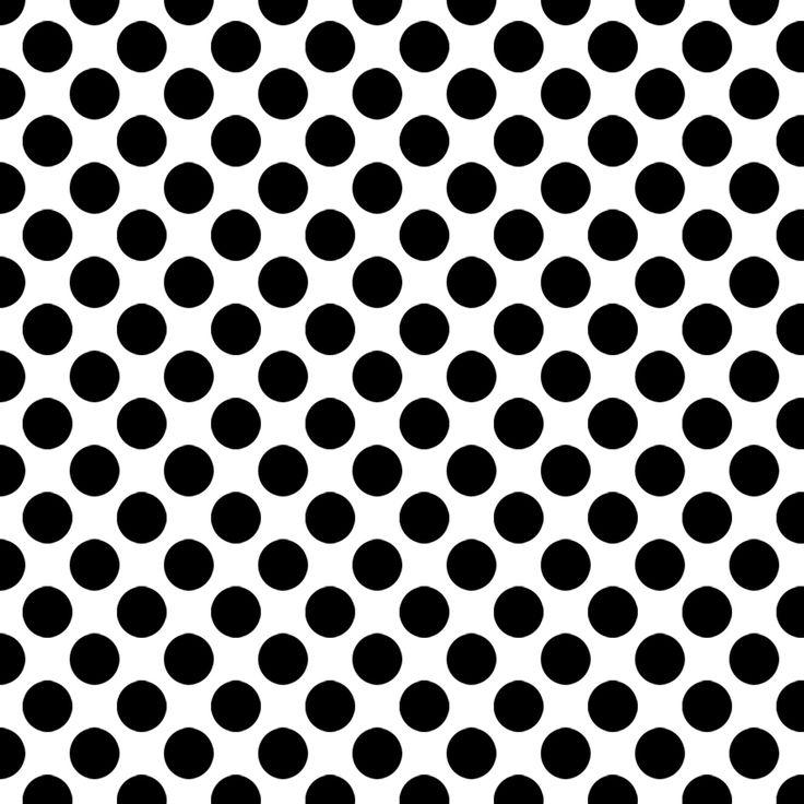 Black and white polka dot wallpaper - SF Wallpaper