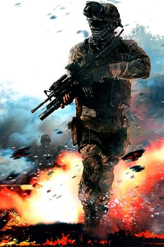 Call of duty live wallpaper - SF Wallpaper