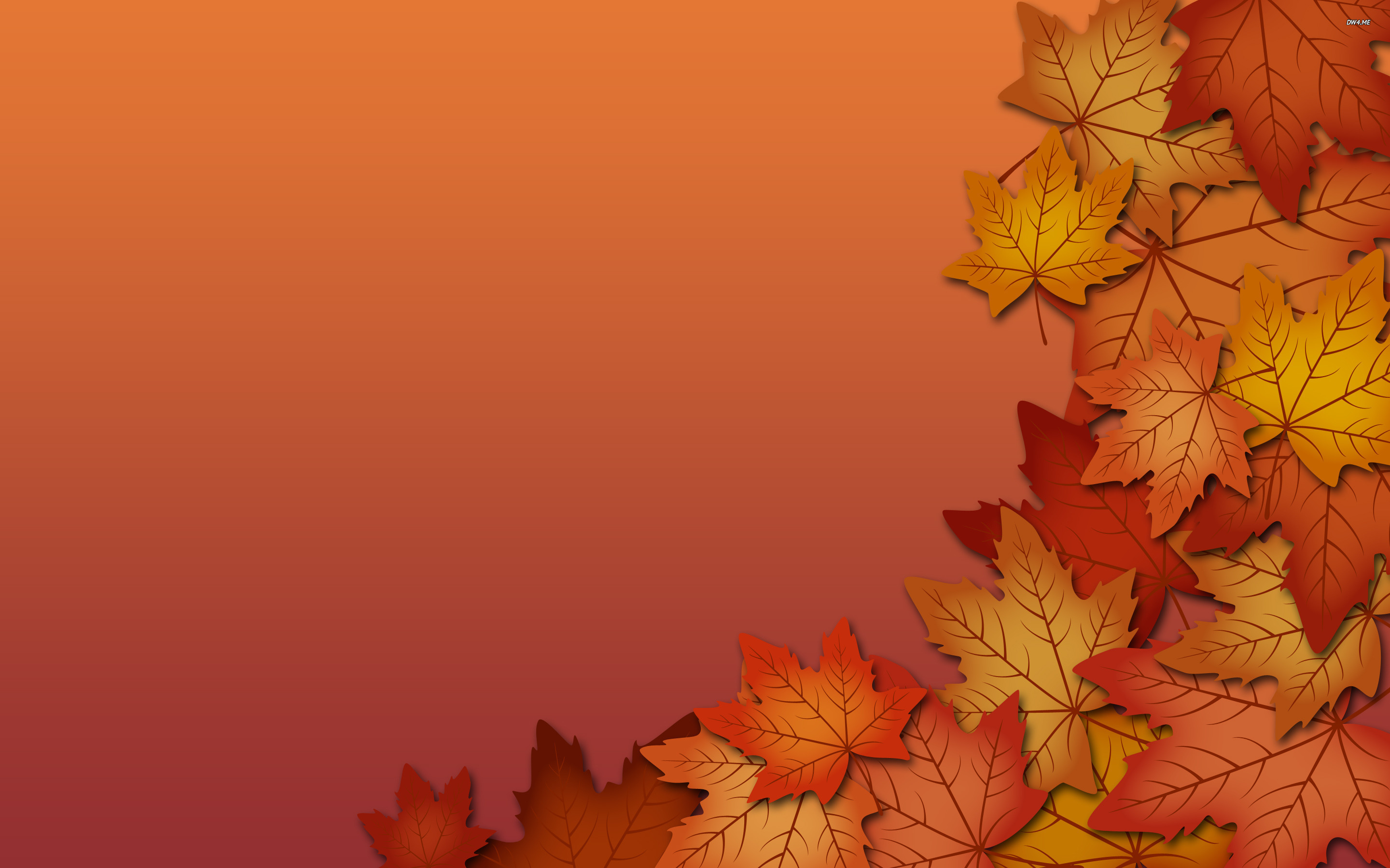 Beautiful Fall Wallpapers Fall Leaves Wallpaper Sf Wallpaper