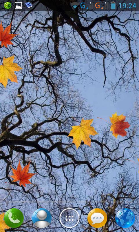 Falling Leaves Live Wallpaper Apk Live Fall Wallpaper Labzada Wallpaper