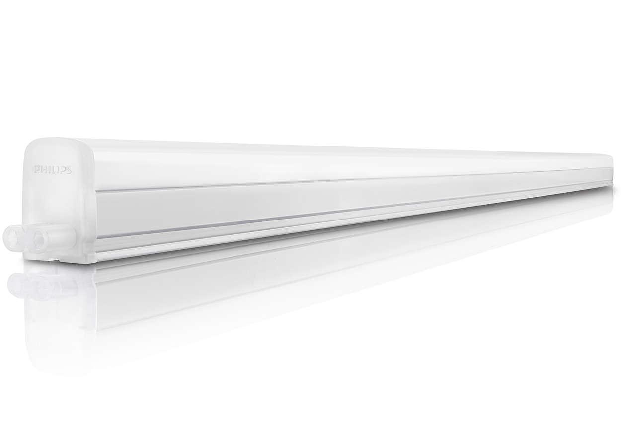 Philips Imageo Philips 31094 Trunkable Linea Led Batten Wall Light Cove Light 120cm 12w 1000lm 4000k Cool White