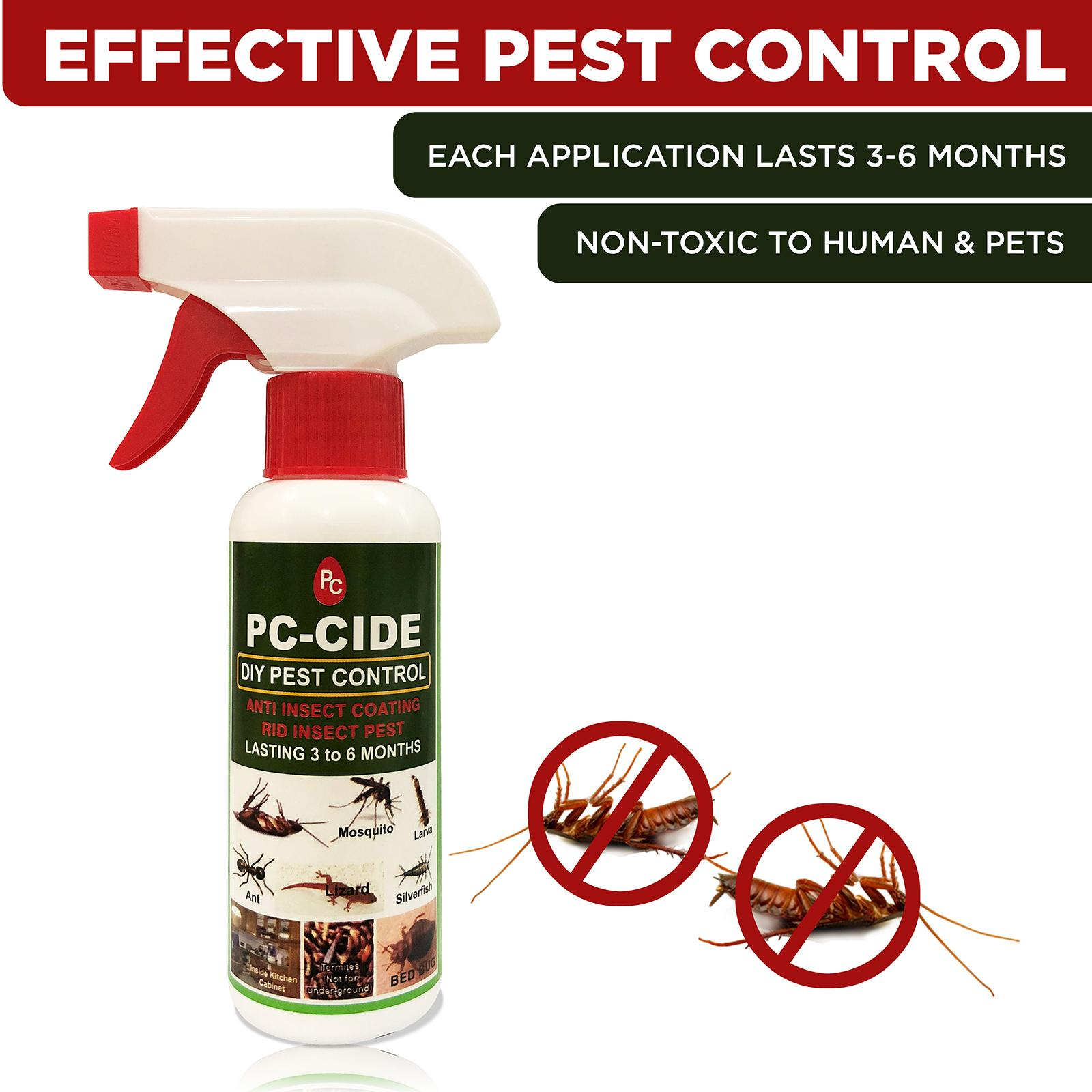 Diy Pest Control Supplies Pc Cide Diy Pest Control Treatment 160ml