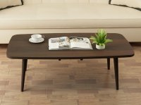 Japanese Style Rectangle Coffee Table (Dark Walnut) Singapore
