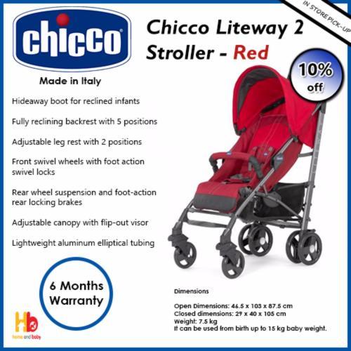 Medium Of Chicco Liteway Stroller