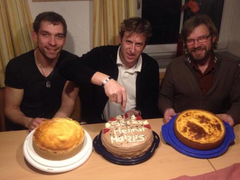 Die Gewinner beim Kuchenschießen