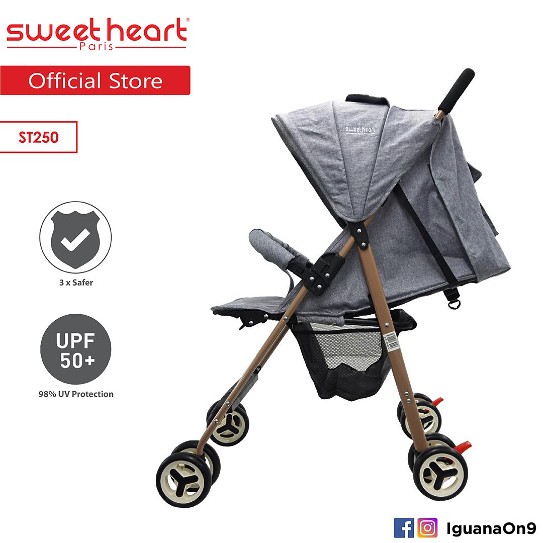 Compact Stroller Singapore Sweet Heart Paris St250 New Edition Compact Size Stroller With Multipostion Adjusted Backrest Singapore