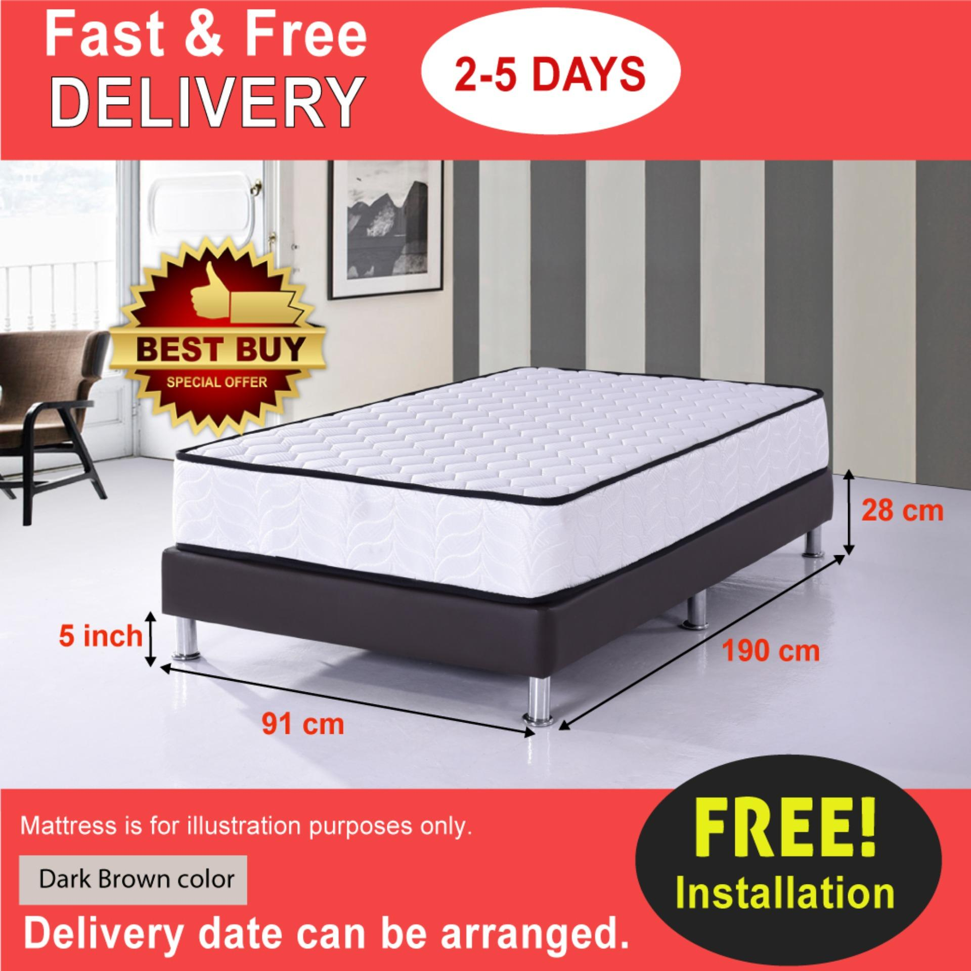 Divan Beds Cheap Divan Bed Base Single Size By Univonna