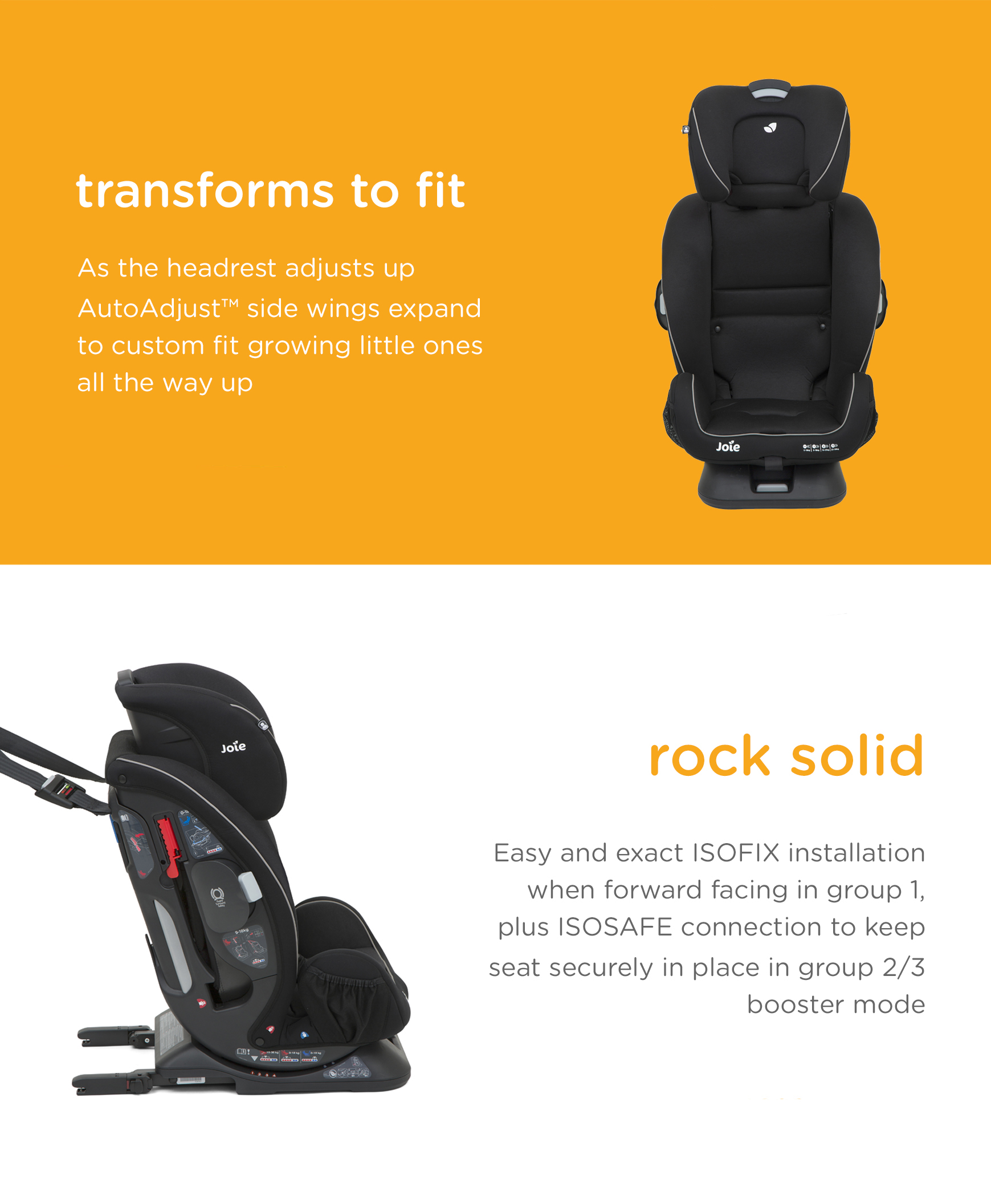 Stage 2 Car Seat With Base Joie Every Stage Fx Car Seat