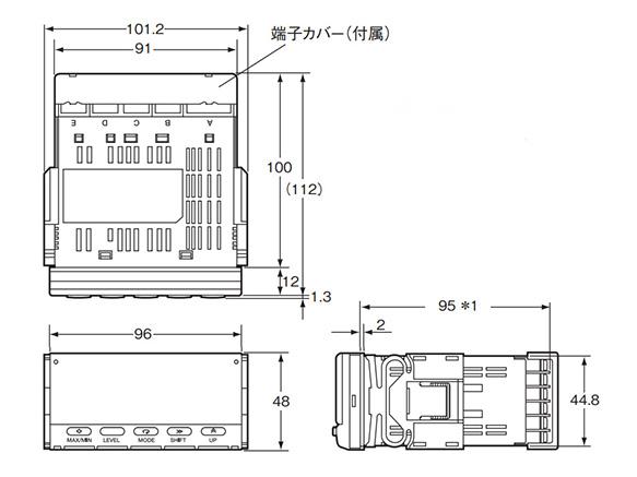 K3HB-HTA-T11 AC100-240 Temperature Panel Meter K3HB-H OMRON