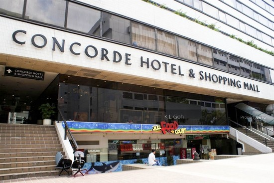 Concorde Hotel Shopping Mall 100 Orchard Road Singapore