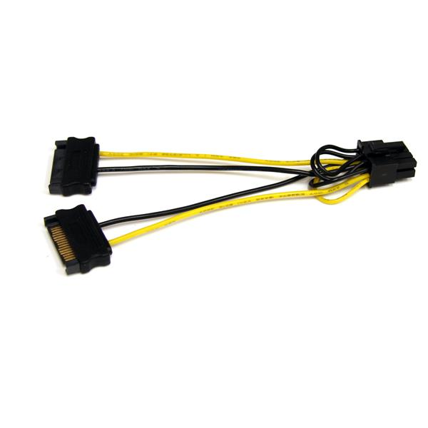 SATA to PCI Express Video Card Power Adapter Cable StarTech