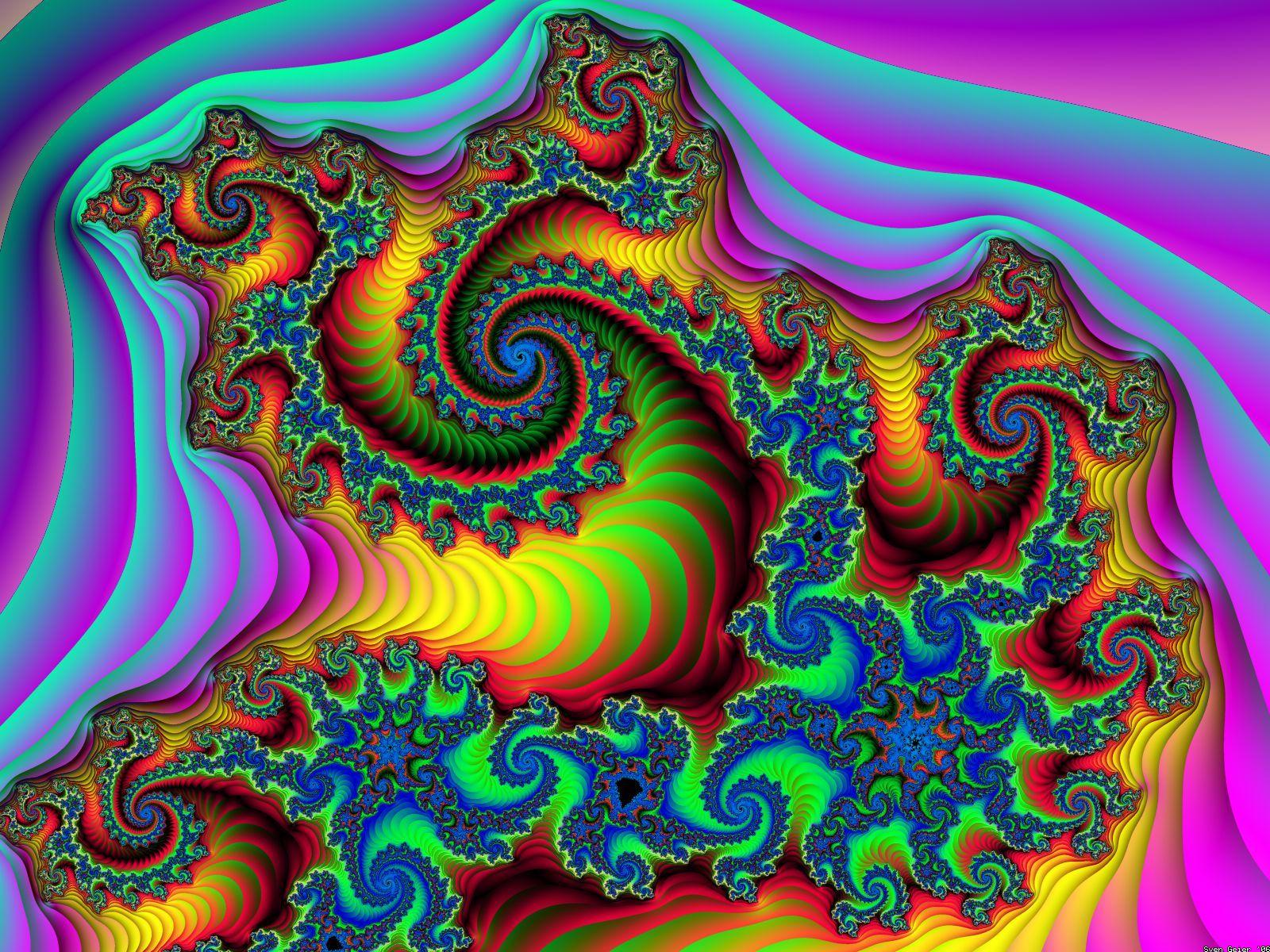 Hyperspace 3d Wallpaper The Fractal Bargain Bin Wallpapers Eye Candy Pretty