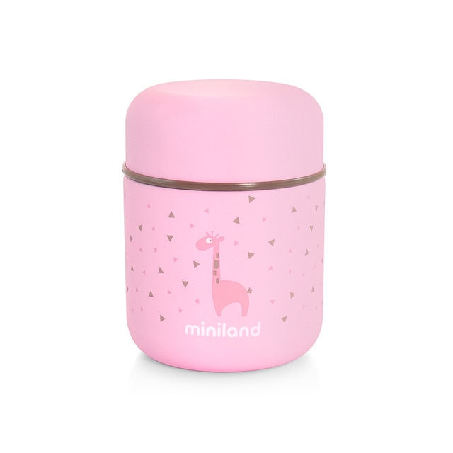 Chicco Baby Food Thermos Termo Para Sólidos Miniland Silky Food Thermos Mini Rose