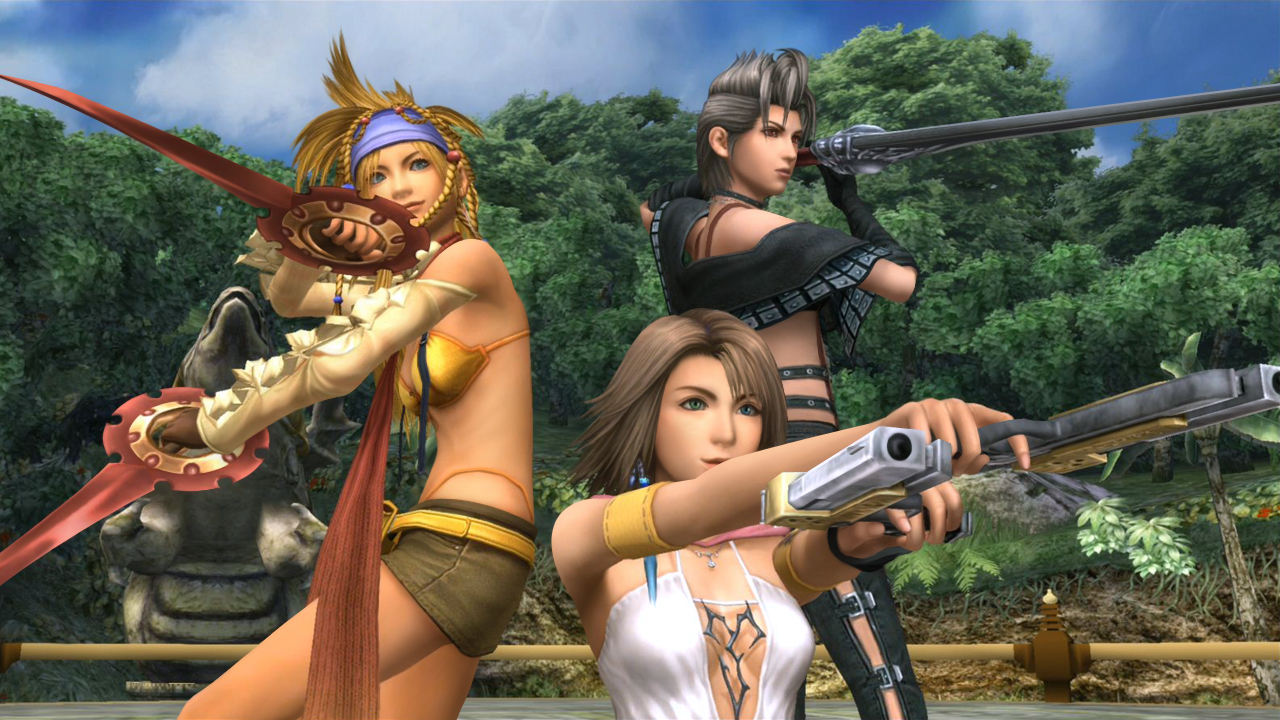 X X 2 Sggaminginfo Catch A Glimpse Of Final Fantasy X 2 In Hd