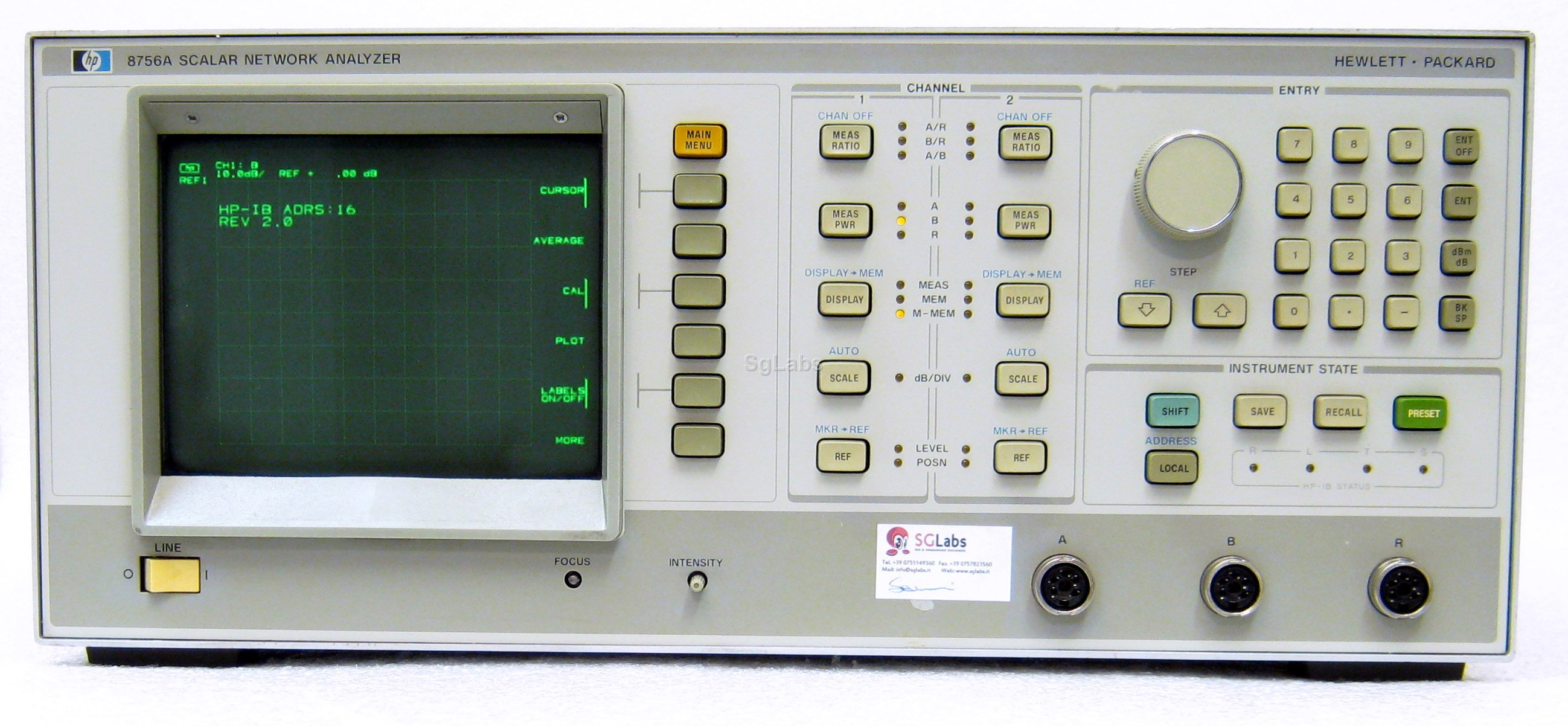 Network Analyzer Hp Agilent Keysight 8756a