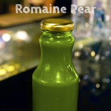 Organic, cold pressed Romaine Pear Juice 250ml
