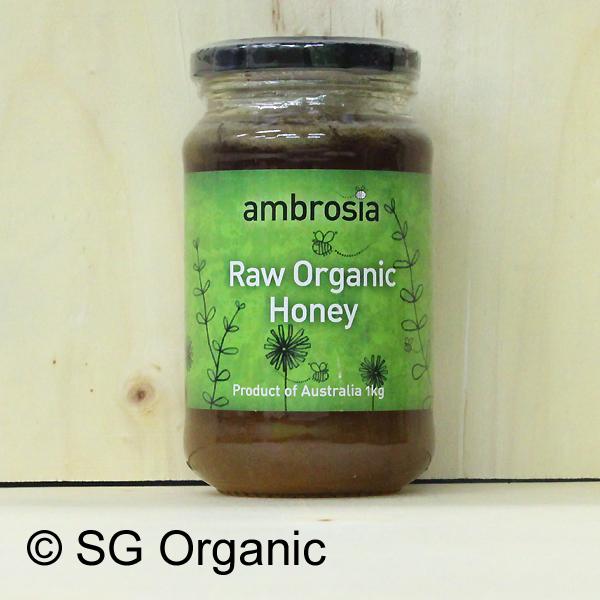 sg organic raw organic honey