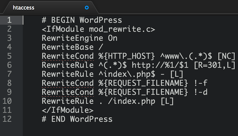 How to Redirect WWW to Non-WWW Version of Your Website
