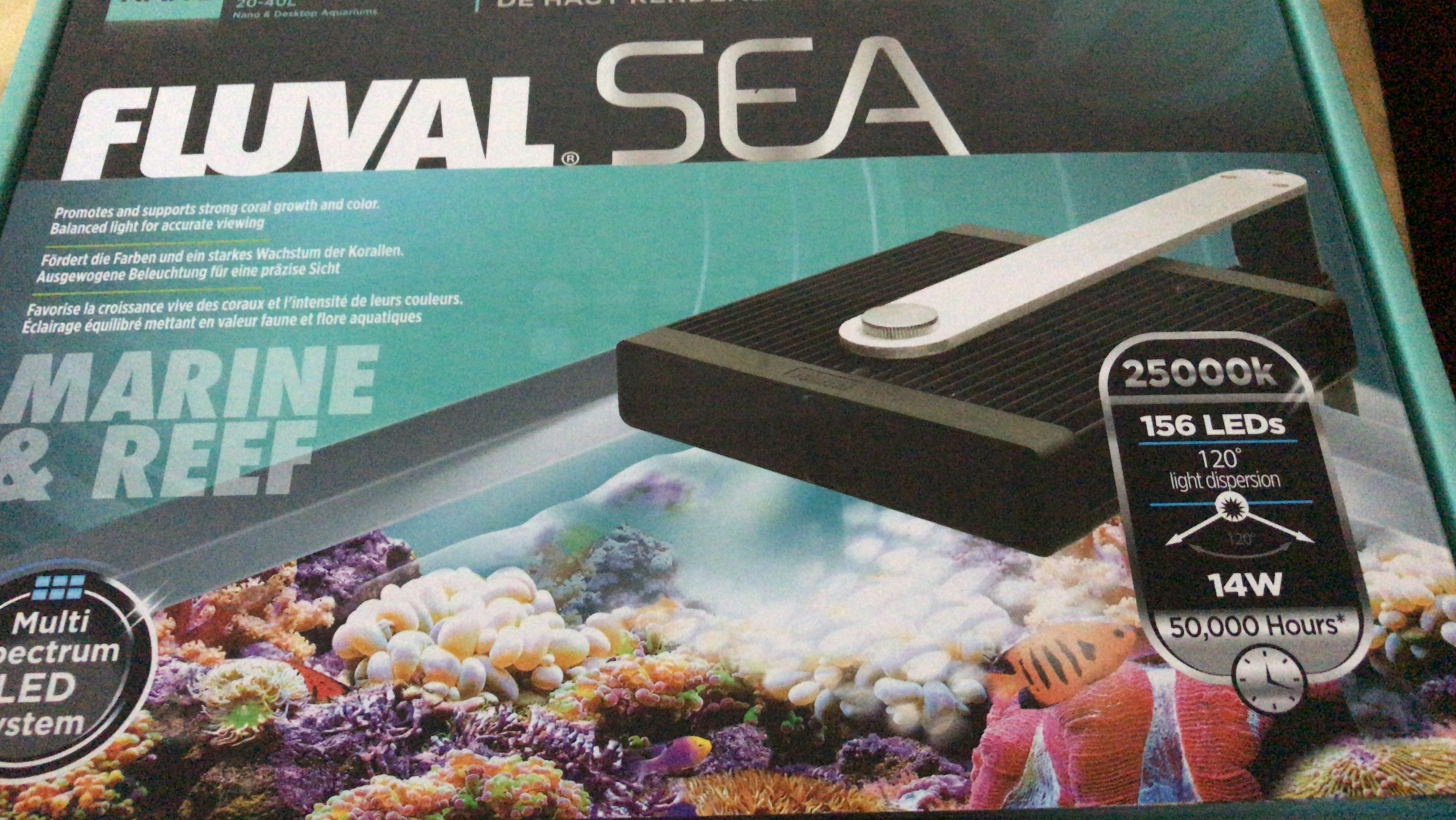 Led Licht Für Nano Aquarium Wts Brand New Fluval Sea Marine Reef Led Nano Light Sell Off