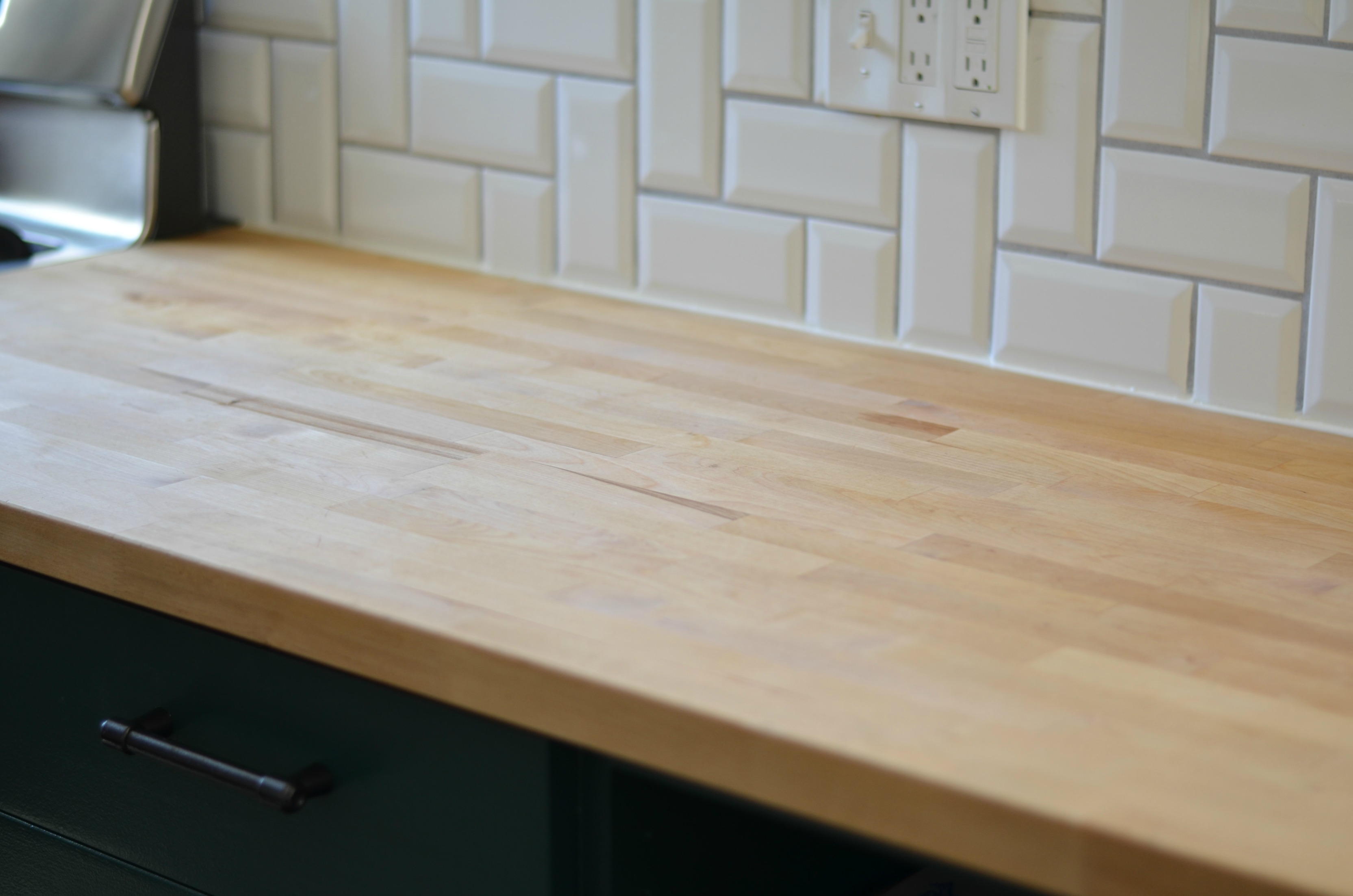 Butcher Block Countertops Care How I Care For Our Butcher Block Countertops Sg Style