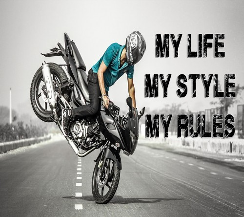 Bikers Quotes Hd Wallpapers 200 Stylish Cute Attitude Facebook Dp Amp Profile Pics For Fb
