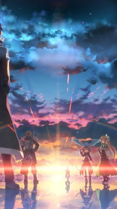 Sword Art Online iPhone Wallpaper HD - Supportive Guru