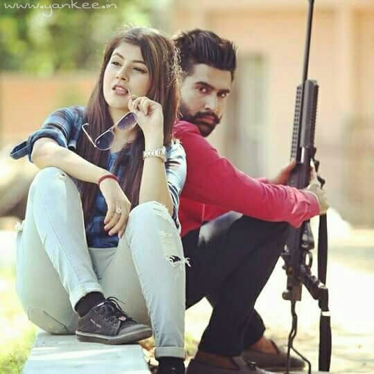 Punjabi Girl With Gun Hd Wallpaper 130 Romantic Couples Love Dp Profile Picture Fb Whatsapp